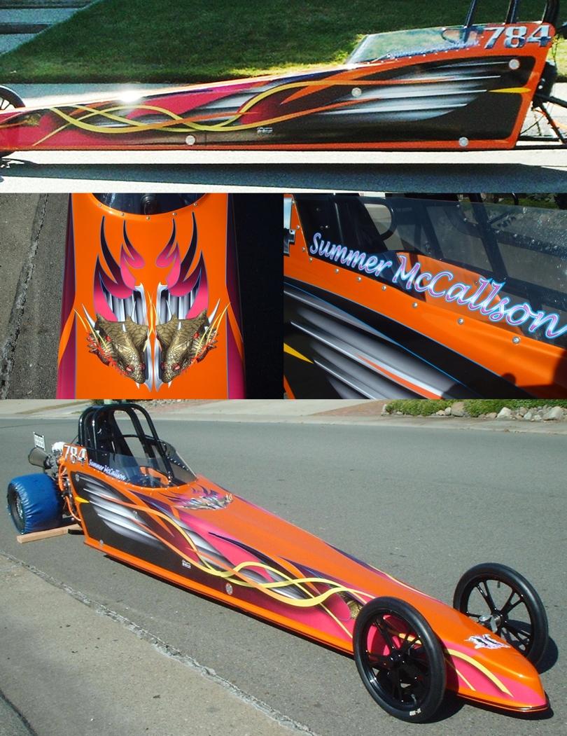 Jr Drag Race Car Decal Graphics Jr Drag Car Wraps Jr Drag