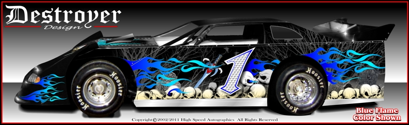 Late Model Race Car Graphics