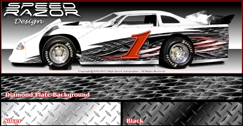 Late Model Graphic | Late Model Race Car Wraps | Late Model