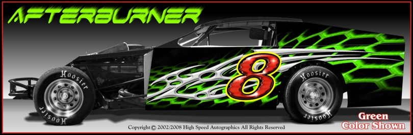 Dirt Modified Graphics