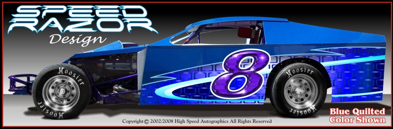 Dirt Modified Wrap Modified Race Car Graphic Race Car Decals