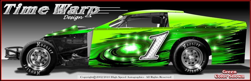 Modified Dirt Car Wrap Modified Race Car Decal Race Car Numbers