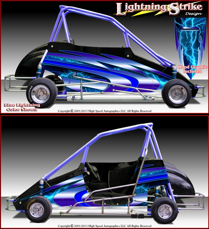 Quarter midget decal designs was