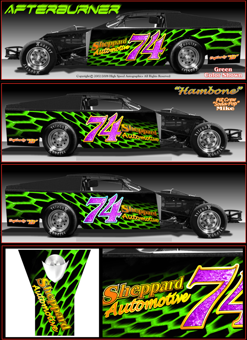 Race Car See Your Design Page  Race Car Graphics Race Car Wraps - Decal graphics software