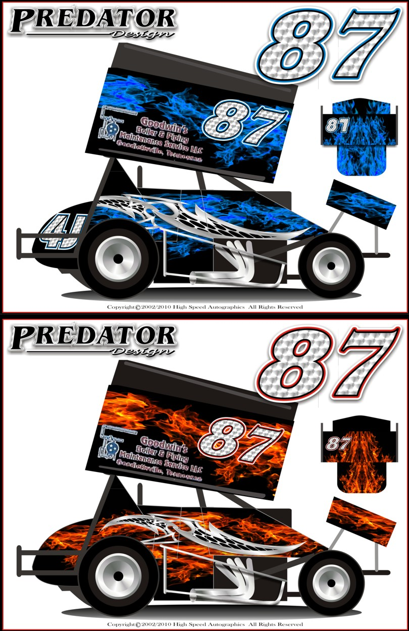 Sprint Car Graphics Design Race Car Graphics Designs
