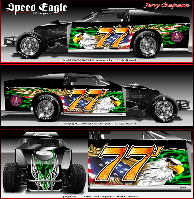 Sprint Car Graphics Design Drag Race Car Graphics Designs