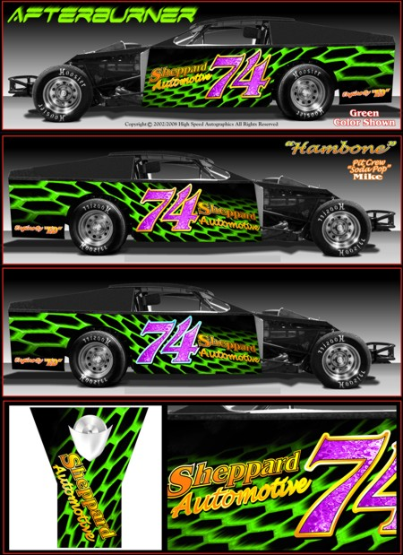 Race Car Decal Designs Car Decals Graphics Designs
